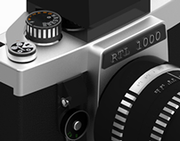 Analog Camera 3D Model