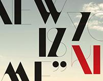 NewModern Typeface (Sawdust)