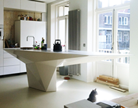 Poly Kitchen Island