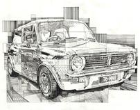 Drawings By Mark Sibley 2008 - 2010