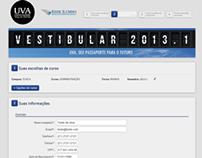 UVA - Novo formulário de inscrição