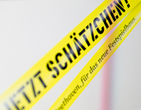 Campaign and Microsite Jetzt Schätzchen!