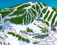 3d - Killington Ski Resort Wayfinding - Buttery Agency