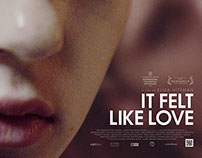It Felt Like Love - Sales poster