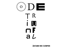 "Pagination of ""Ode Triunfal"""