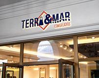 """Branding_""""Terra e Mar_Congelados"""""""