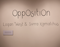 Opposition - A Typography Based Museum Exhibition