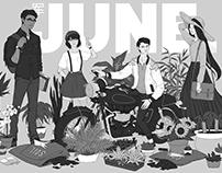JUNE - Splash Page