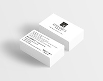 Business card for Epiploges-Handmade furniture