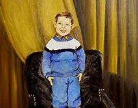Portraits. Paintings
