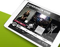 Vive Latino (página web concept)