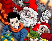Aliens Helper - Santa Claus Helper