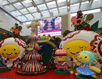 Christmas Installation in HongKong