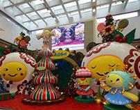 Christmas Installation in HongKong