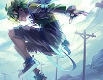 Gaia Online - Illustrations