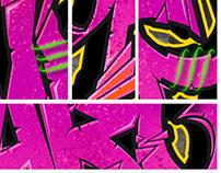 Gargamel Graffiti