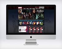Marvel Reads Website