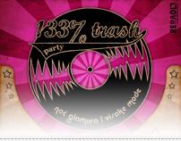 133 % trash party