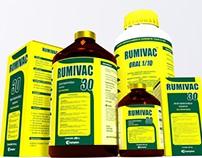 Embalagens 3D Rumivac Champion