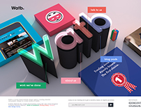Website Mockup - WATB Creative