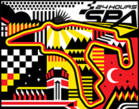 Spa 24hrs 2017 - Racetrack illustration