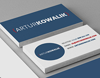 Artur Kowalik - personal branding/materials.