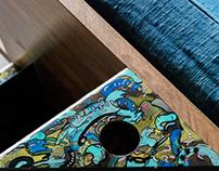 a l e s h a ╳ Qullar design: Sofa and Work Space