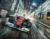 F1 _ Streets of Chicago - CGI + Retouching