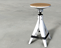 AIKEN Bar Stool Design