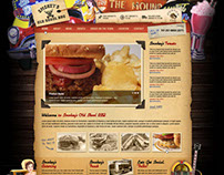 Smokey`s BBQ - web design