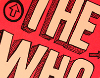 The Who Pressbook, Poster and Banner