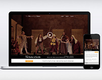 The Barber of Seville Responsive site