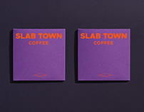 SLAB TOWN COFFEE Red Packet - CD Packaging