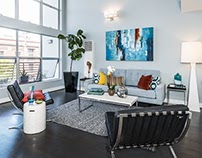 Contemporary, San Francisco Loft, Full Home Staging