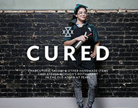 CURED at Pearl Brewery Brand Identity