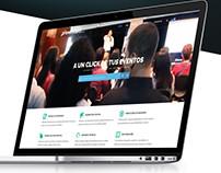 Website Responsive EVENTOS4G.COM