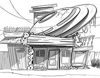 alien house...