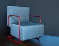Honn armchair