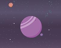 Mercan Planet / Illustration