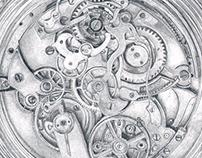 A Clock Story - Illustrations