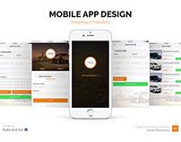 Mobile App Design for Haramayn Transfers