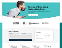 License Finance Money Website