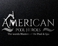 Swimming pool logo