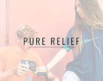 Pure Relief Newsletter & Instagram ADs