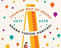 Tourism map of Adana