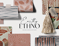 Earthy Ethno - Seamless Patterns
