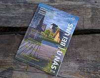 "Design of bilingual tourist magazine ""Bei uns - U nás"""