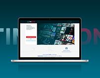 Landing Page + Progettazione Icone| TIM Vision
