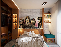 Graffitti Bedroom