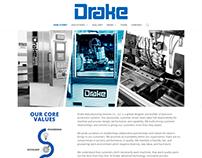 Drake Manufacturing Website Design